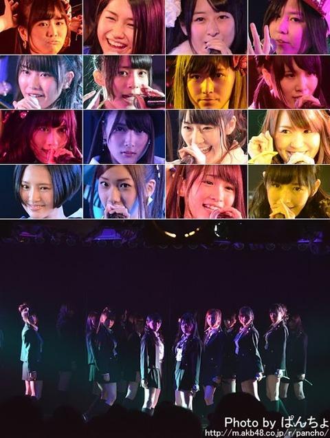 【AKB48】チームA公演が定員割れらしい