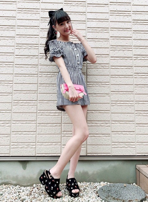 【朗報】AKB48Gで一番えちえちな中学生、決まる!【NMB48・岡本怜奈】