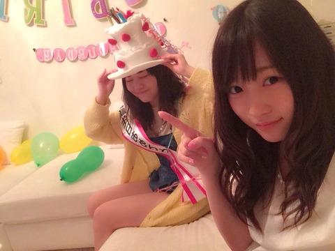 【悲報】AKB48川栄李奈「横山よりちょりのほうが気が合う」