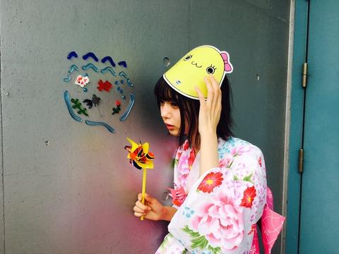 【NMB48】ゆかた祭りを満喫するみおりんの浴衣姿、可愛すぎ!!!【市川美織】
