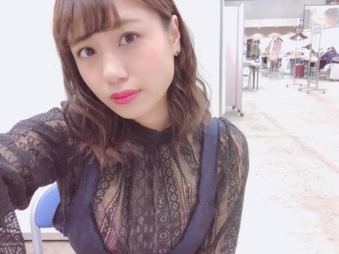 【NMB48】沖田彩華の服がエロすぎるwwwwww【あーぽん】