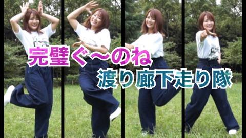 【元AKB48】平嶋夏海さん、完璧ぐ~のねを踊る