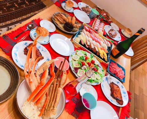 【AKB48】れなっち家のクリスマスパーティの料理が豪華!!!【加藤玲奈】
