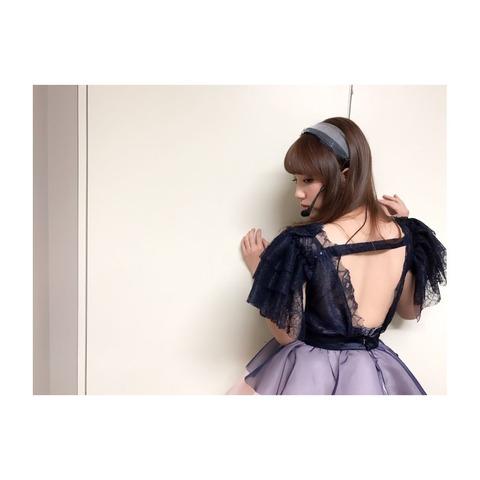 【AKB48】ゆいはん「サムネイル公演の後半は背中を綺麗に見せるためにみんなノーブラ」【横山由依】