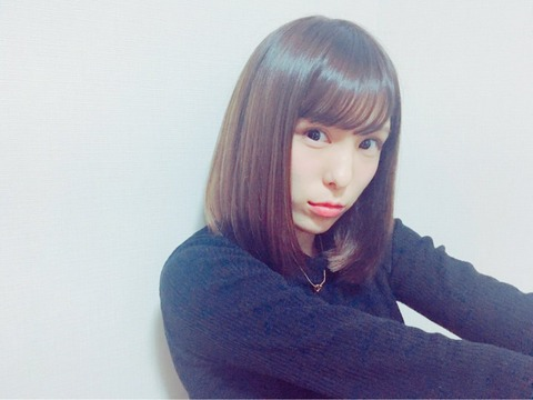 【AKB48】小嶋菜月「髪型をボブにしたよ!どうですか?好きになってくれたら嬉しいです」