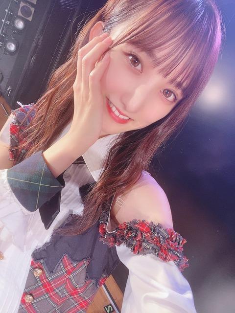 【悲報】AKB48長友彩海ちゃん 楽屋で一緒になったNGT48と会話しなかったことを思わず暴露w