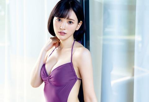 【元HKT48】兒玉遥、ランジェリーにも初挑戦 「すごく刺激的な内容に」カレンダーで美ボディ披露