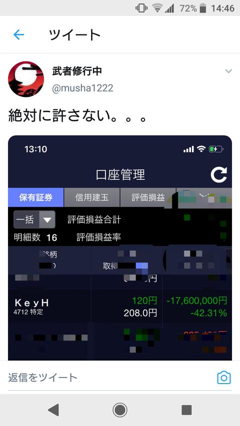 【悲報】Twitter民、KeyHolder株で1700万円溶かすwwwwww【SKE48】