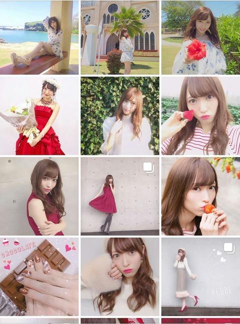 【Instagram】山口真帆さん、北原卒業記念写真以外のメンバーとの写真を削除