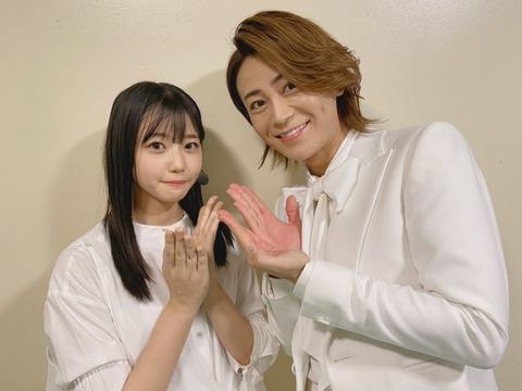 【STU48】瀧野由美子「大好きな人と写真を撮れて幸せ」