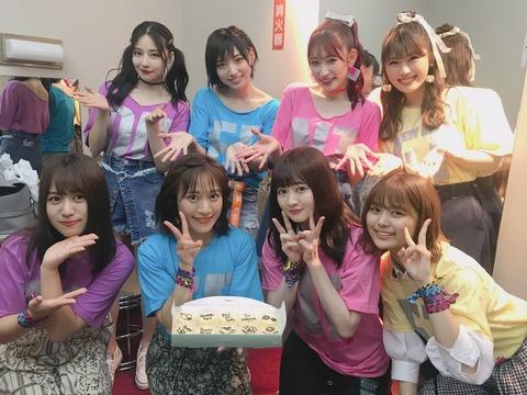 【#Queentet】SKE48福士奈央「SKEではめったに聞くことがない、女性ファンの方の歓声にびっくりしました😳笑」