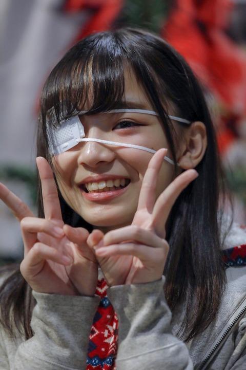 【眼帯フェチ歓喜】眼帯もえきゅんがエロすぎると話題に【AKB48・後藤萌咲】
