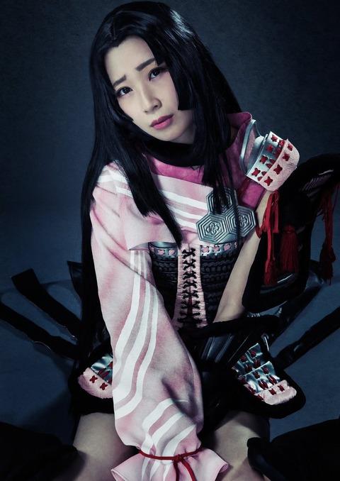 【SKE48】高柳明音出演の舞台「戦国BASARA」のビジュアル解禁!