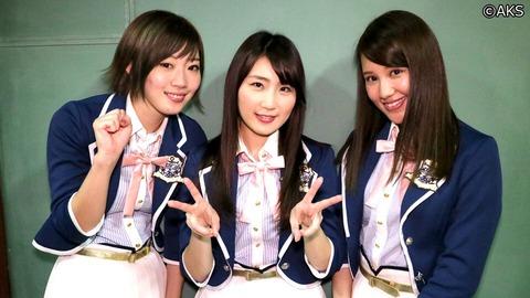 【AKB48】中田ちさと、鈴木まりや、田名部生来←この辺はあと3年は卒業しない