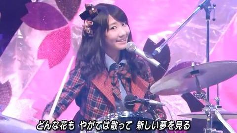【AKB48】柏木由紀のドラム見てるとイライラする