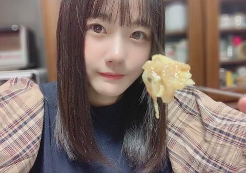 【STU48】瀧野由美子さんニンニクチューブまるまる1本もんじゃ焼きに入れて食すw