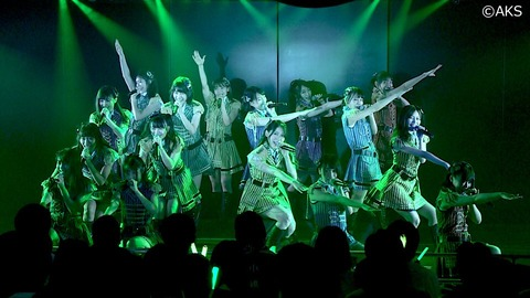 【AKB48G】各グループの8月の劇場公演数、とんでもない格差がついてしまう
