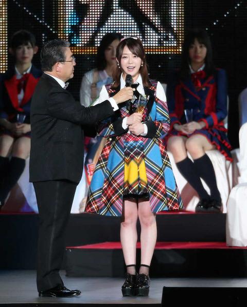 【AKB48】峯岸みなみ、総選挙の影響力を熱弁「お給料にも関わってくる」