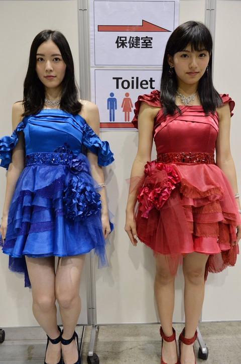 【SKE48】松井珠理奈が後藤楽々に負けまいと乳にがっつり詰め物しててワロタwww