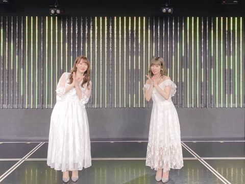 【NMB48】石田優美・西澤瑠莉奈 冠ライブ「最初で最後の2人」公演まとめ