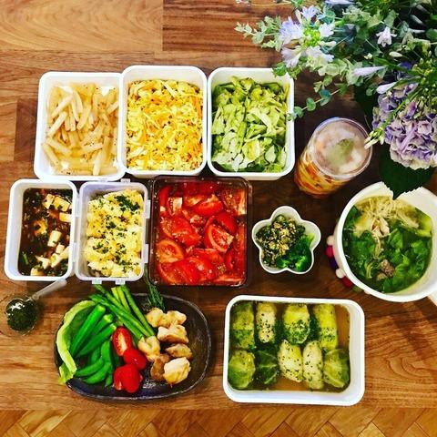 【画像】篠田麻里子、野菜料理で良妻アピールwww