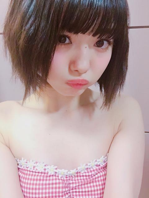 【NMB48】みおりんの乳首が見えそうなセクシーショットwww【市川美織】