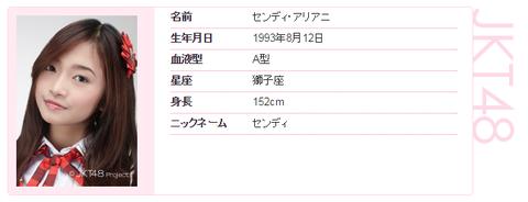 【JKT48】卒業発表をしていたセンディ・アリアニが解雇処分に