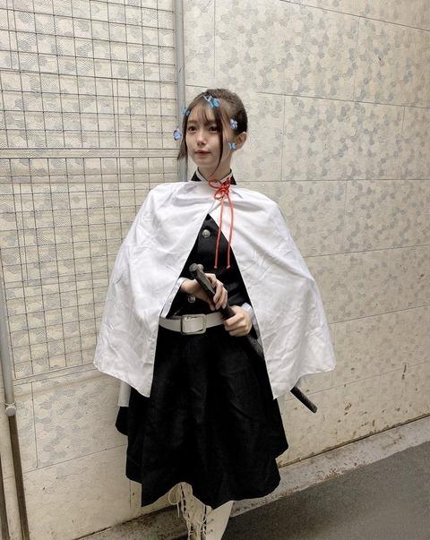 【朗報】元AKB48市川美織(26)「鬼滅の刃」栗花落カナヲ完全再現!「マジ天使」「実写確定」絶賛の声