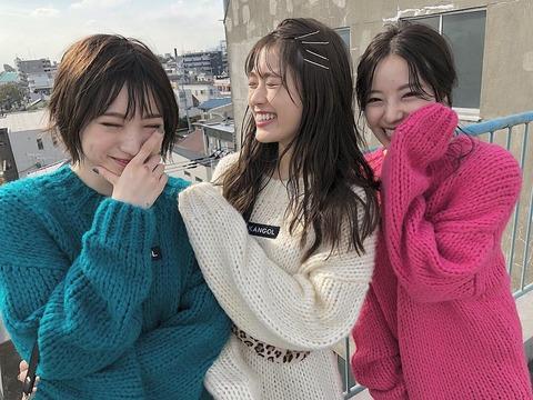 【NMB48】渋谷凪咲「Queentetなぎさえゆーり、3人で居るといつもおだやかな時間、すき」吉田朱里「私、、、」