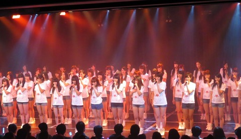 【AKB48】3.11震災特別公演のメンバー決定!君はメロディー選抜以外全員総出演