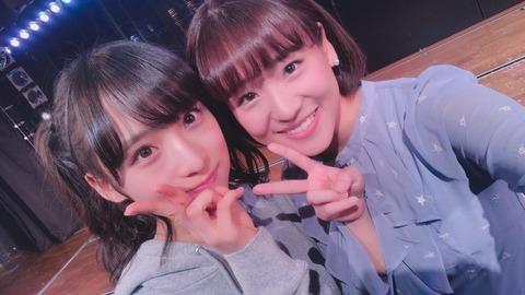 【AKB48】小栗有以、可愛すぎて世界の仲川遥香を緊張させる【ゅぃゅぃ】