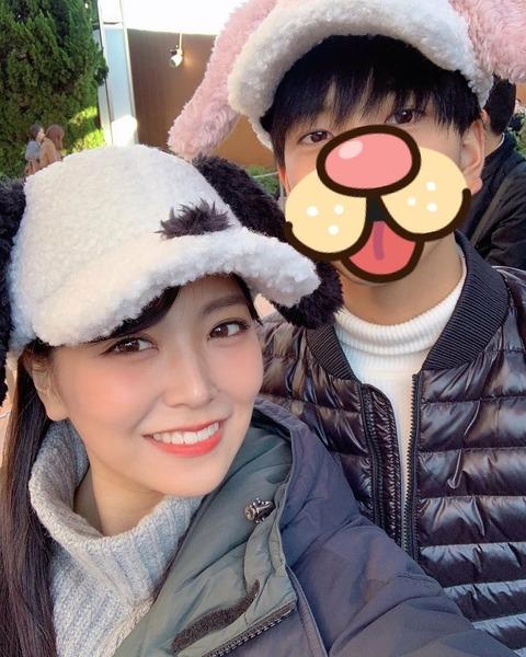 【NMB48】白間美瑠さん、イケメンとのユニバデート写真を投稿してしまうwww