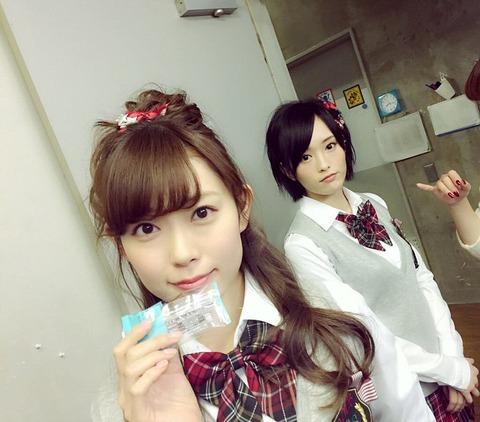 【NMB48】お前らはさや姉とみるきーどっちとエッチしたいの?【山本彩・渡辺美優紀】