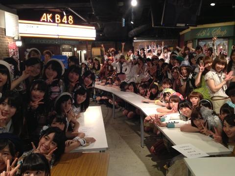 【AKB48G】劇場公演でのハイタッチを復活してくれ