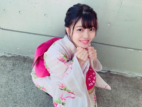 【朗報】NGT48角ゆりあさん、総選挙ランク外コンサートで大爆笑をとる