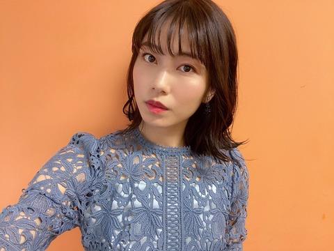 【AKB48】横山由依(29)さん、遂に髪の毛を染める