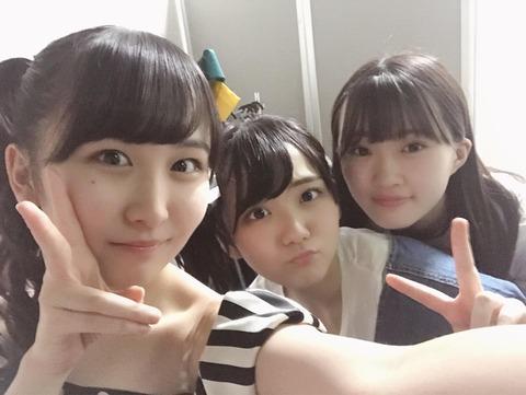 【AKB48】山邊歩夢、田口愛佳、山根涼羽の中で誰が一番好き?