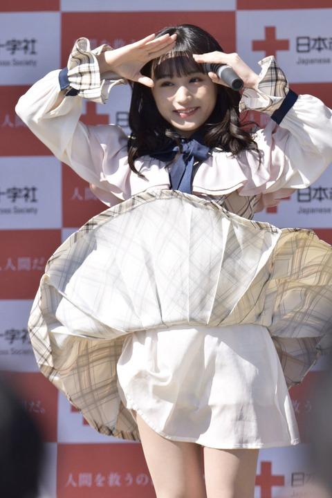 【AKB48】チーム8坂口渚沙ちゃんのパンチラが激撮されるwww