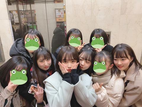 【悲報】AKB48矢作萌夏さん、卒業公演後に一般人とメンバーも巻き添えにしてご飯wwwwwww