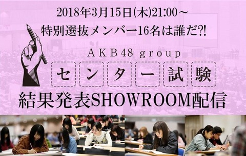 【AKB48グループセンター試験】成績上位は学力に比例してる気がしない?