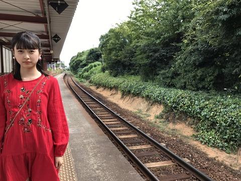 【HKT48】松岡はなちゃんの旅情を感じさせる写真が何か良い!