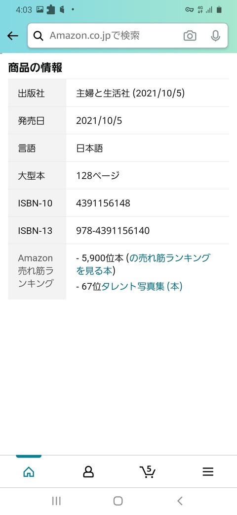 【発売直前】NGT48荻野由佳ちゃんの1st写真集がAmazonランキング5900位で空前絶後の大ヒットwwwwww