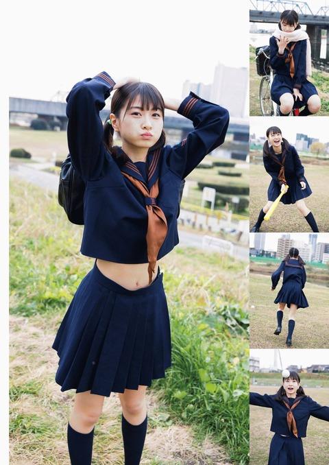 【HKT48】松岡はなちゃんのおへそが可愛い(*´Д`)ハァハァ