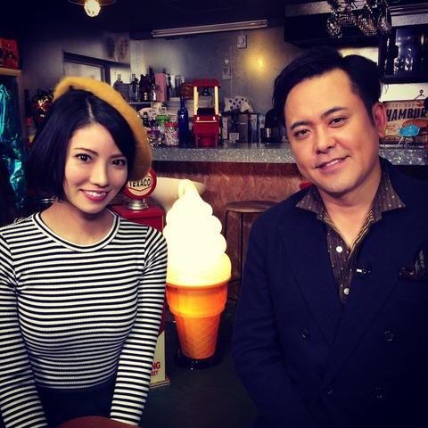 【朗報】元AKB48倉持明日香がくりぃむしちゅー有田とプロレス番組のMCに!