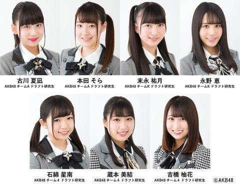 【悲報】AKB48のドラ3研究生、ついに研究生生活1,000日達成してしまう・・・