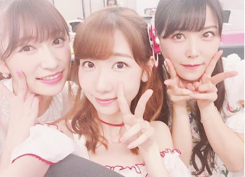 【AKB48】柏木由紀「あかりん可愛さが凄い」→柏木「アカリンか・・ごめんね」からの須田www