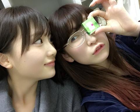 【AKB/NMB】朱里と朱里のツーショット【高橋朱里・吉田朱里】