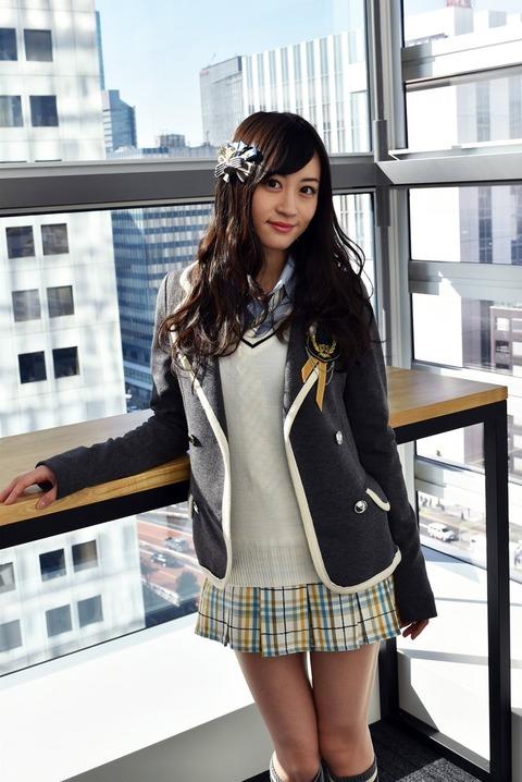 【NMB48】けいっち、卒業後は「事務の仕事に興味がある」【上西恵】