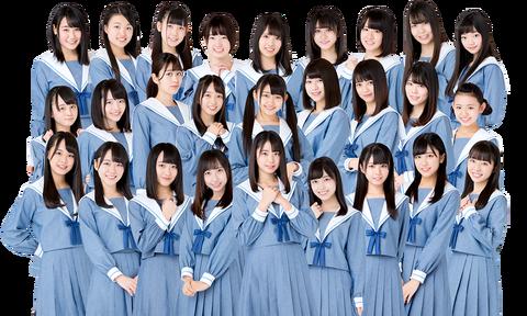 【STU48】顔←中村舞、胸←由良朱合、尻←沖侑果【どすけべボディ】