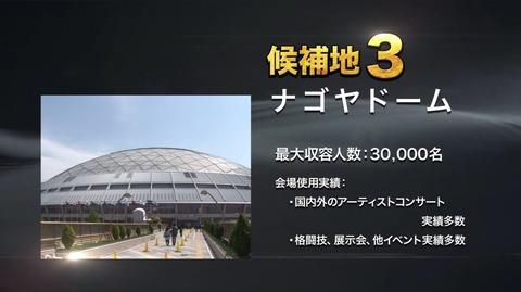 【AKB48総選挙】今年はナゴヤドームに決まったけど未だに誰が招致したのかが明らかにされない件